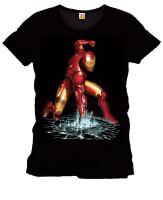 Iron Man T-Shirt - Fist (schwarz) XL