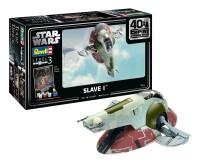 Star Wars Modellbausatz 1/88 Slave I - 40th Anniversary...