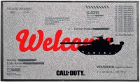 Call of Duty Fußmatte Cold War - Welcome