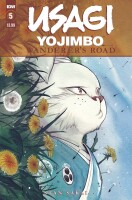 Usagi Yojimbo Wanderers Road 5 (Of 6) Peach Momoko Cover