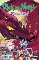 Rick And Morty Worlds Apart 1 Cover B Williams