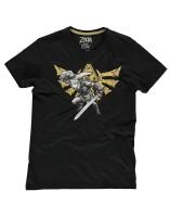 Legend of Zelda T-Shirt - Hyrule Link (schwarz)