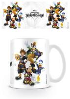 Kingdom Hearts Keramiktasse - Group (300 ml)
