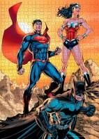 Batman Puzzle Batman and Wonder Woman (1000 Teile)