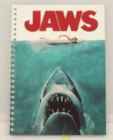 Jaws Notizbuch: Movie Poster Spiral Notebook (DIN A5)