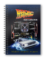 Back to the Future Notizbuch: Powered by Flux Capacitor...