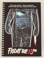 Friday the 13th Notizbuch: Movie Poster Spiral Notebook...