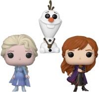 Frozen 2 POP! Movies PVC-Sammelfigurenset - Travel Elsa,...