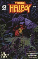 Young Hellboy The Hidden Land 4 (Of 4) Cover A Smith