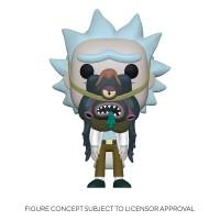 Rick and Morty POP! PVC-Sammelfigur Rick with Glorzo