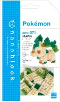 Pokemon nanoblock Bauset Folipurba