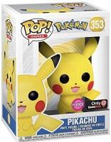 Pokemon POP! PVC-Sammelfigur - Pikachu flocked (353)