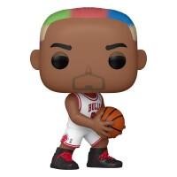 NBA POP! PVC-Sammelfigur - Dennis Rodman Bulls Home Jersey