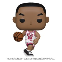 NBA POP! PVC-Sammelfigur - Scottie Pippen (Bulls Home)