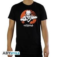Naruto T-Shirt - Shippuden Naruto (schwarz)