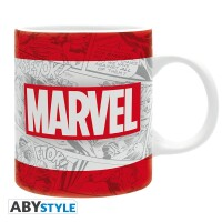 Marvel Comics Keramiktasse - Logo Classic (320 ml)