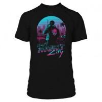Cyberpunk 2077  T-Shirt - Destination Night City (schwarz)