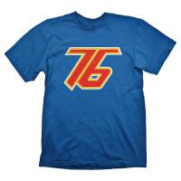 Overwatch T-Shirt - Soldier 76 (blau)