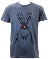 Overwatch T-Shirt - Widowmaker Tattoo (grau)