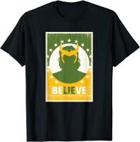 Loki T-Shirt Believe (schwarz)