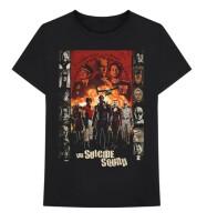 Suicide Squad T-Shirt - Line Up (schwarz)