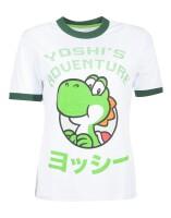 Super Mario Brothers Damen T-Shirt (Girlie): Yoshis...