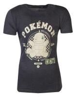 Pokemon T-Shirt - Squirtle Varsity (grau)