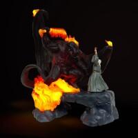Herr der Ringe LED-USB-Lampe The Balrog Vs Gandalf (41 cm)