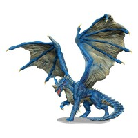 D&D Icons of the Realms: Adult Blue Dragon Premium...