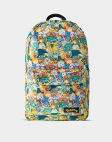 Pokemon Rucksack Characters All Over Printed Backpack