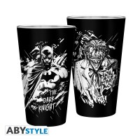 DC Comics Trinkglas Batman & Joker (400 ml)