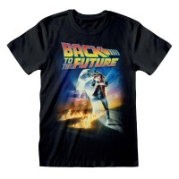 Back to the Future T-Shirt - Poster Art (schwarz)