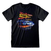 Back to the Future T-Shirt - Retro Japanese (schwarz)