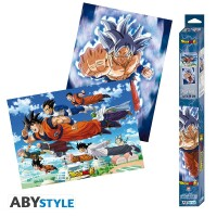 Dragonball Super Poster-Set: Chibi Posters - Goku &...
