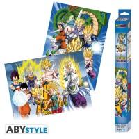 Dragonball Z Poster-Set: Chibi Posters - Groups (52 x 38 cm)