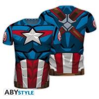 Captain America T-Shirt - Captain America Costume...