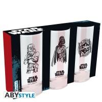 Star Wars Trinkglas 3er Set: Trooper, Vader and Tie...