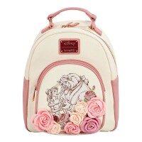 Disney by Loungefly Rucksack Beauty and the Beast Flowers