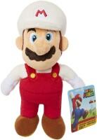 Super Mario Plüschfigur: Fire Mario (20 cm)