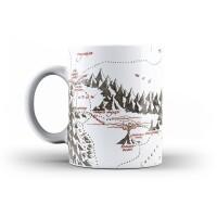 Herr der Ringe Keramiktasse - Map of Mordor (300 ml)