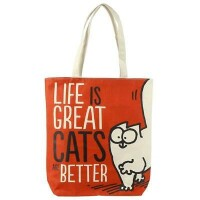 Simons Cat Einkaufstasche Life is great
