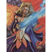 Lady Death / Witchblade Kunstdruck (Romano Molenaar)