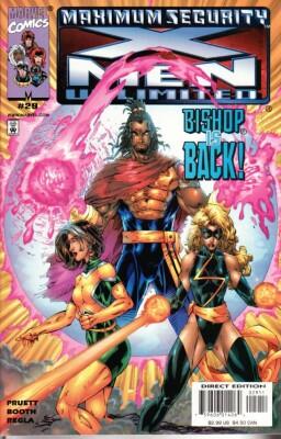 X-Men Unlimited 29