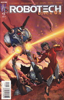 Robotech Love & War 3