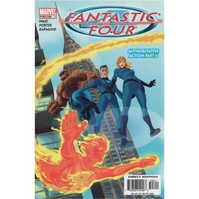 Fantastic Four 508