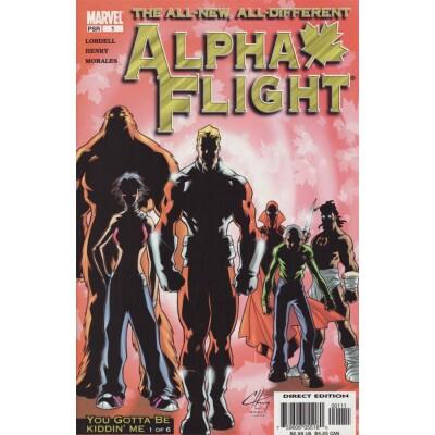 Alpha Flight 1 (Vol. 3)