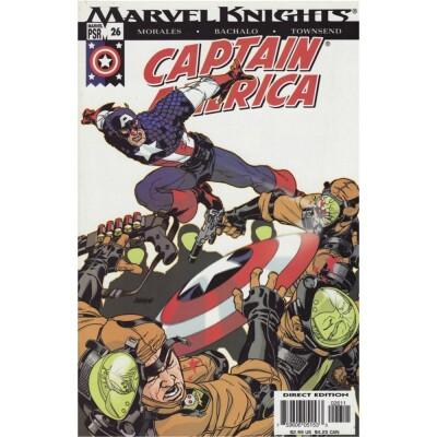 Captain America 26 Marvel Knights (Vol. 4)