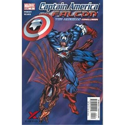 Captain America and the Falcon 4