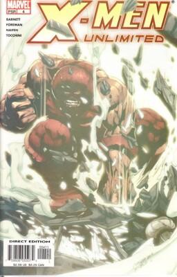 X-Men Unlimited 4