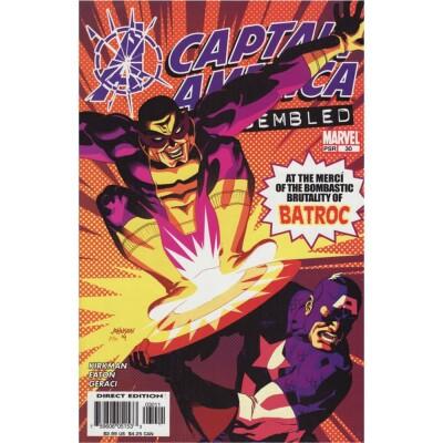 Captain America 30 Marvel Knights (Vol. 4)